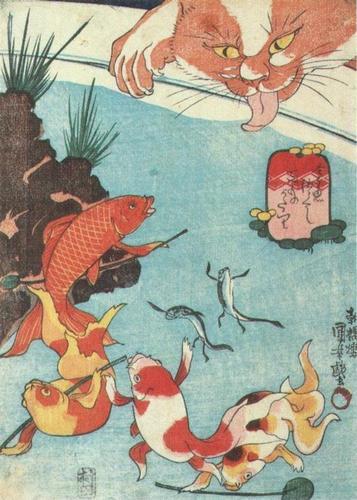 金魚づくし  百ものがたり